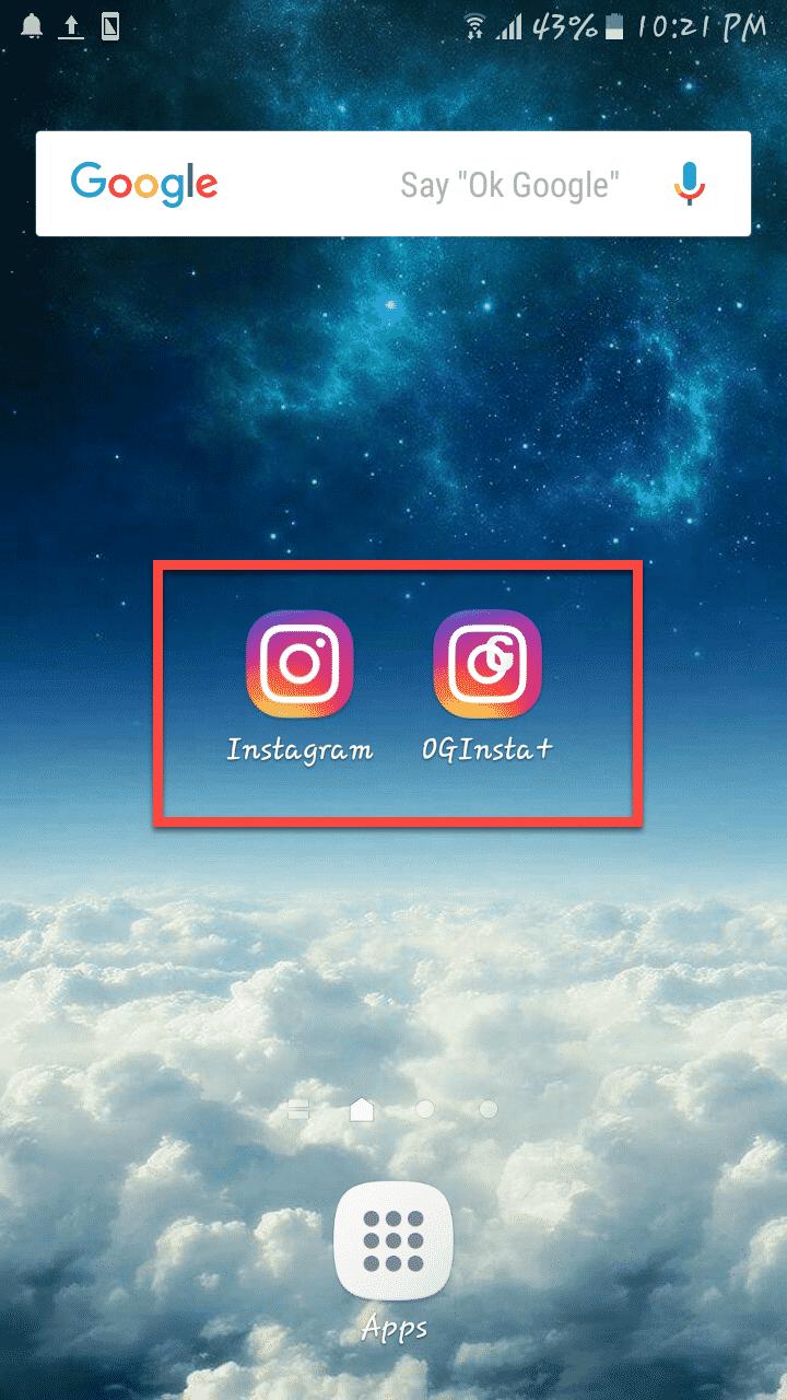ايقونة تطبيق OG Instagram