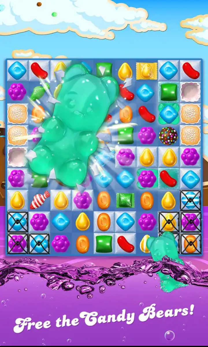 candy crush soda الجديدة