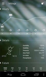 توقعات درجات الحرارة ومعلومات الطقس ل 10 ايام