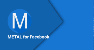 تحميل تطبيق فيس بوك Metal for Facebook للاندرويد 2017