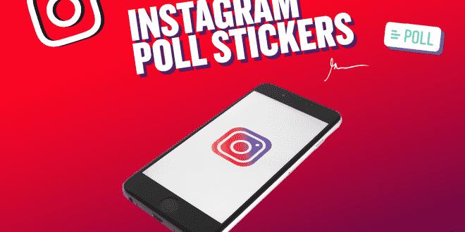 ميزة التصويت الجديدة في instagram story