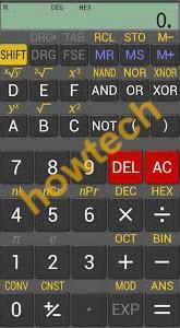 تطبيق الحاسبة العلمية RealCalc Scientific Calculator