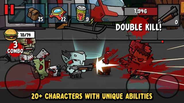 مميزات لعبة زومبي 3