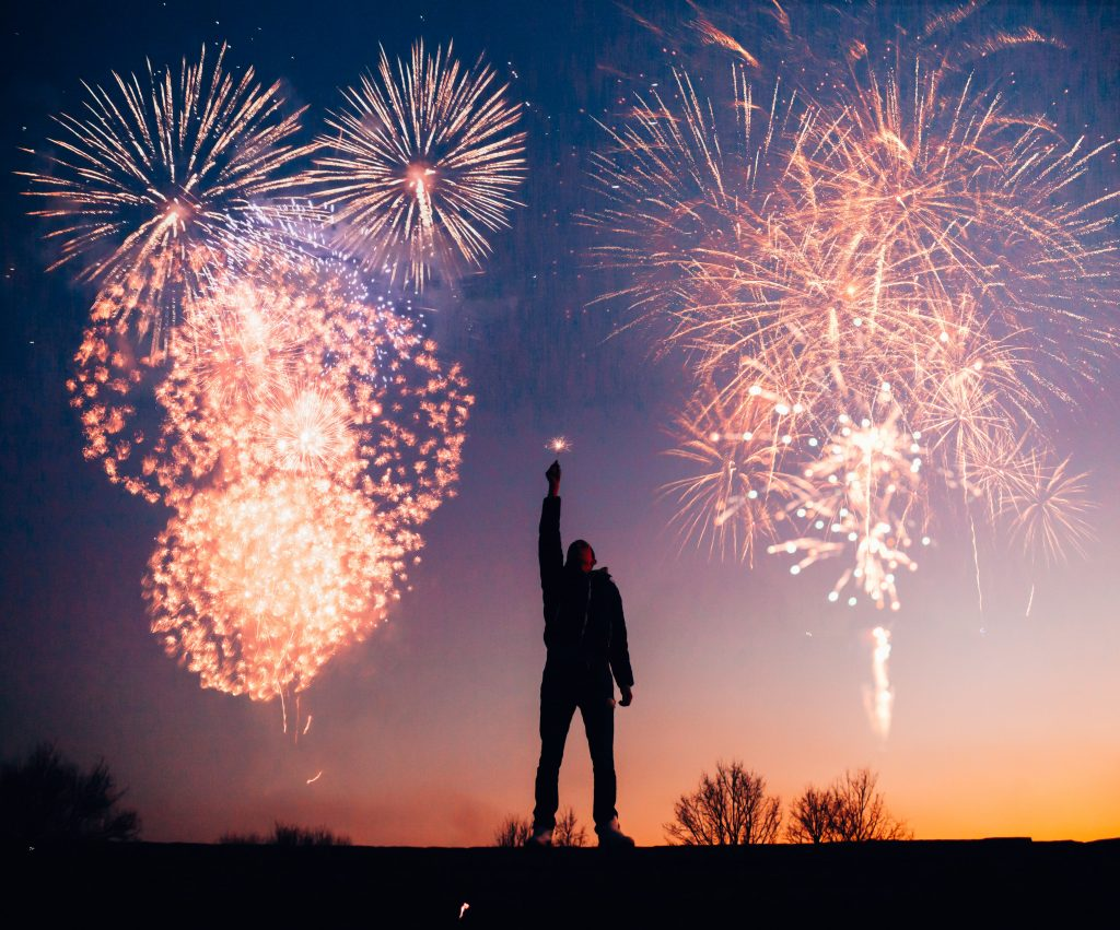 صور احتفالات رأس السنة الميلادية