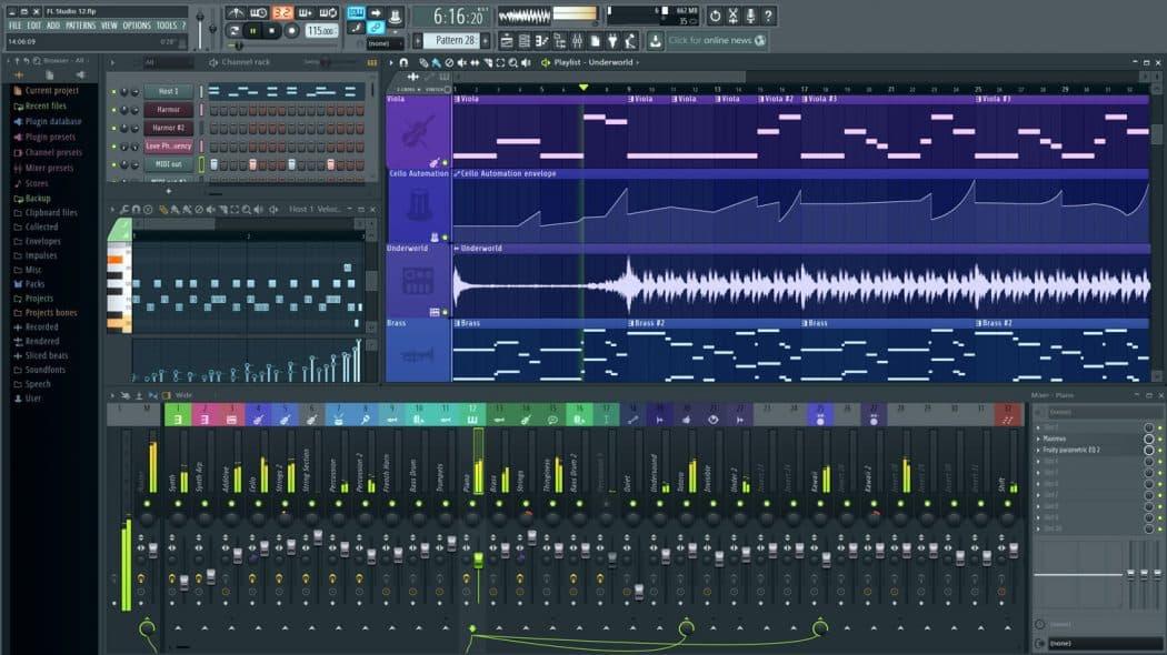 تسجيل مباشر من برنامج FL Studio