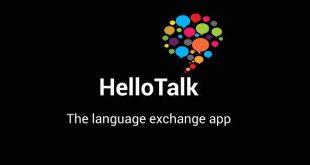 Download HelloTalk app تطبيق تبادل اللغات
