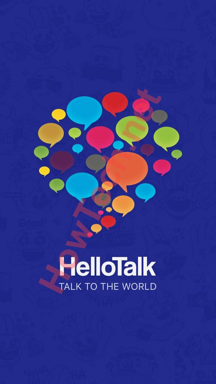 تحميل تطبيق Hello Talk
