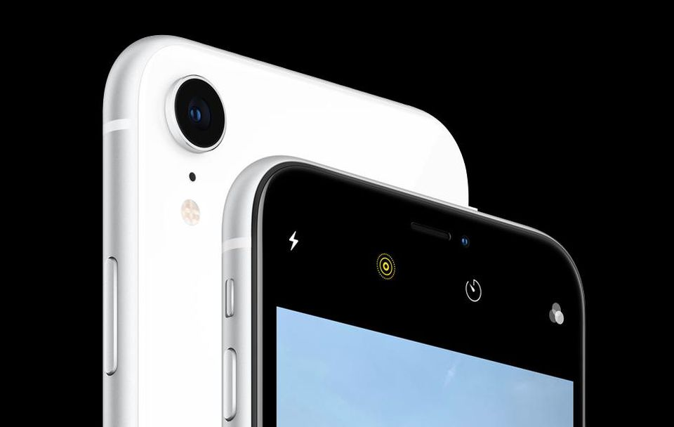 كاميرا هاتف iPhone Xs و iPhone XR