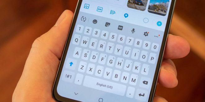 Galaxy S10 , جالكسي اس 10 , تغيير لوحة المفاتيح