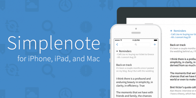 Simplenote , تدوين الملاحظات , تنزيل تطبيق Simplenote