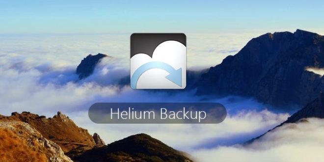 Helium , النسخ الاحتياطي للاندرويد
