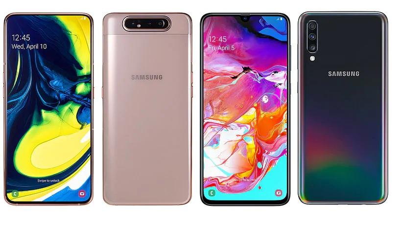 Galaxy A70 ، Galaxy A80