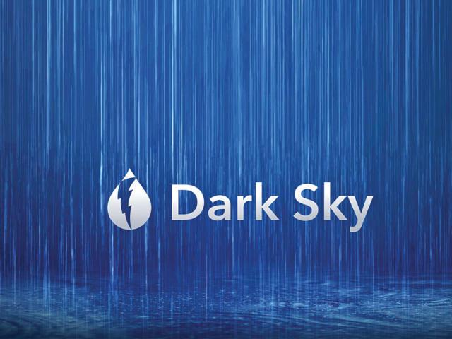 تطبيق Dark Sky